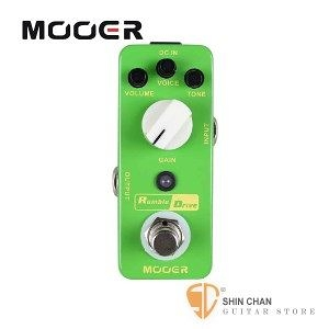 Mooer Rumble Drive 過載效果器【Overdrive Pedal】【Micro系列RD】