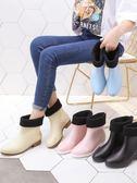 果凍雨鞋女膠鞋套鞋防水防滑水鞋