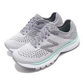 New Balance 慢跑鞋 NB 860 D 寬楦 灰 綠 女鞋 運動鞋 【ACS】 W860P10D