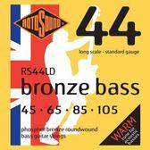小叮噹的店 英國ROTOSOUND RS44LD (45-105) 木貝斯弦 磷青銅 旋弦公司貨