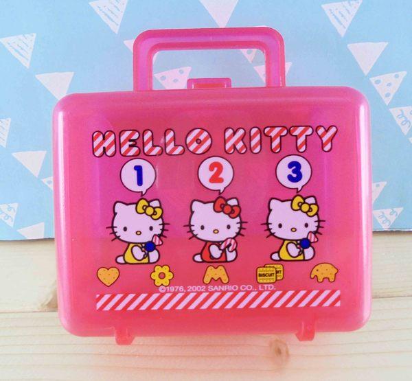 【震撼精品百貨】Hello Kitty 凱蒂貓~KITTY空盒-小提盒造型-紅123