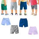 嬰兒短褲 寶寶短褲 純色兒童棉褲 棉質小童褲 HY40602 好娃娃
