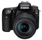佳能 Canon EOS 90D + EF-S18-135mm f/3.5-5.6 IS USM 公司貨 晶豪泰高雄 全片幅 3,250萬高像素