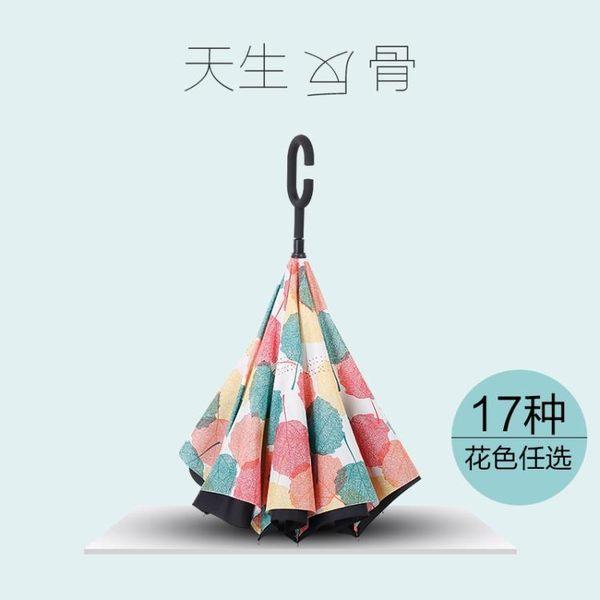 雨傘 反向傘免持式創意傘雙層