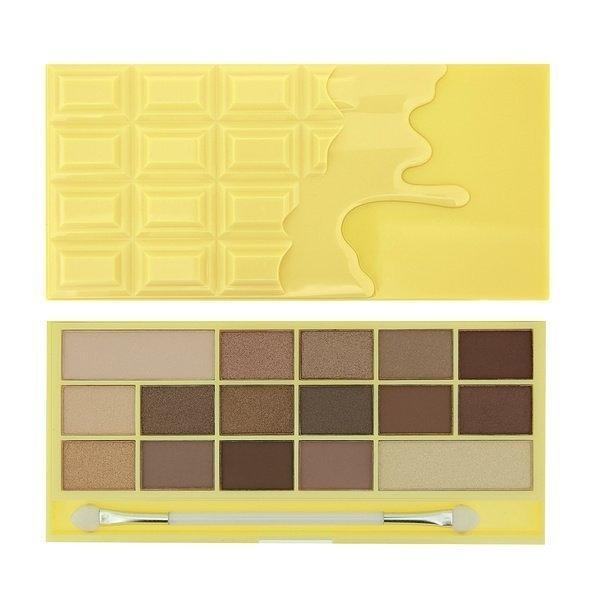 英國 Makeup Revolution I ♡ Makeup Naked Chocolate 白巧克力裸妝眼影盤