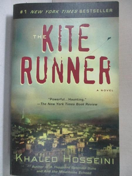 【書寶二手書T1/原文小說_A7R】The Kite Runner_Khaled Hosseini