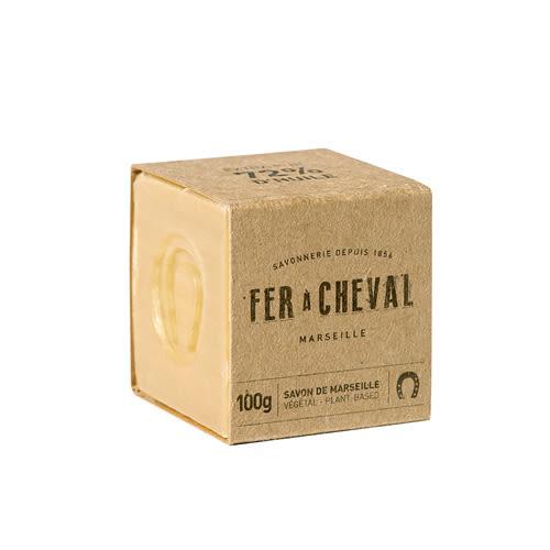 Fer à Cheval法拉夏 經典馬賽皂(植物油-方形) 100g【BG Shop】