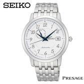 【名人鐘錶】SEIKO PERSAGE古典玩味藍針手上鍊機械錶・4R37-00J0S・SSA087J1・公司貨・藍寶石鏡面