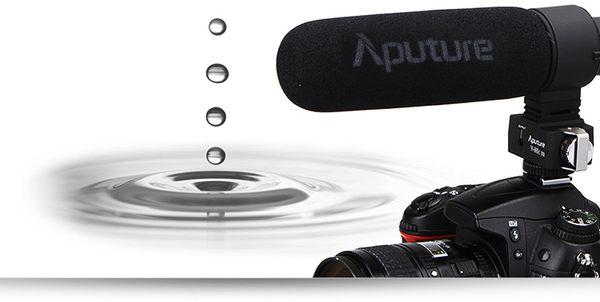Aputure V-Mic D2 可調增益超指向電容麥克風 公司貨