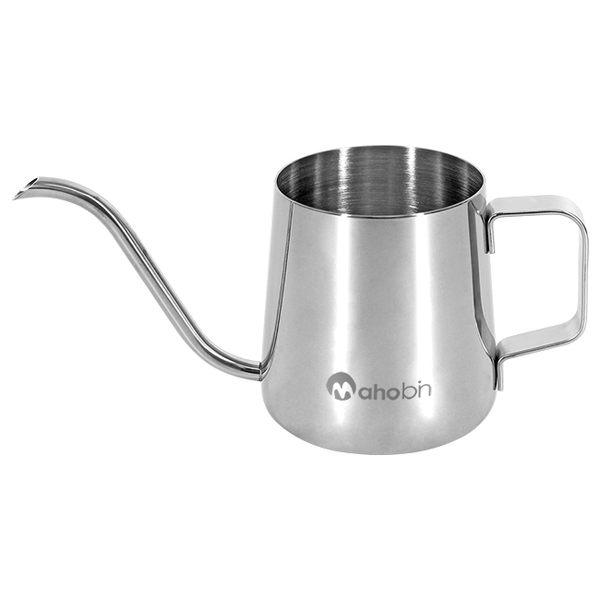 魔力坊嚴選 304不鏽鋼耳3掛式咖啡手沖壺細嘴壺350ml(MF0429)