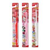 牙刷 布布童鞋日本製 EBISU 三麗鷗Hello Kitty牙刷3入組(大童/成人) [ 2AP491K ]