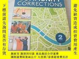 二手書博民逛書店Community罕見Corrections 社區懲戒Y1676
