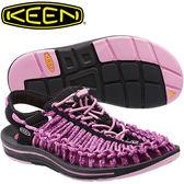 KEEN 1014637 紫/黑 Uneek 女專業戶外護趾編織涼鞋 溯溪鞋/水陸兩用鞋/運動健走鞋/沙灘戲水拖鞋