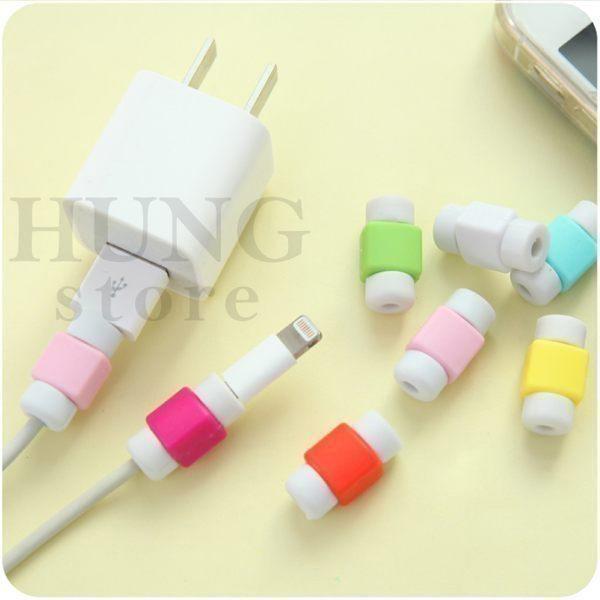 【SZ】(單個/單組) i 線套 無掛勾 傳輸線數據線保護套 iPhone micro傳輸線USB 充電線保護套 耳機線