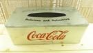 【震撼精品百貨】可口可樂_Coca Cola~鐵製面紙盒-銀   (高標勿買)