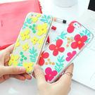 韓國 俏皮花紋 透明軟殼 手機殼│S6 Edge Plus S7 S8 S9 Note4 Note5 Note8 Note9│z7630