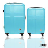 行李箱24+20吋 ABS材質 愛琴海系列【Just Beetle】