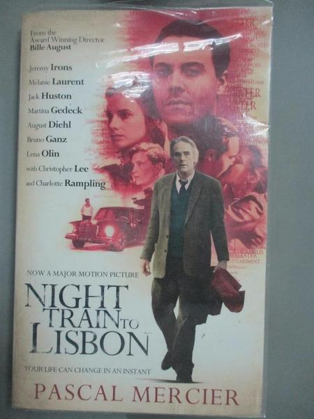 【書寶二手書T6/原文小說_INJ】Night Train To Lisbon_Barbara Harshav