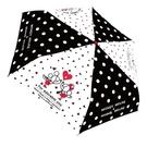 迪士尼 Disney 米老鼠 米奇&米妮 情侶 黑白點點 摺疊傘 TOYeGO 玩具e哥