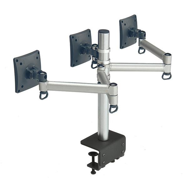 #TP FOGIM 夾桌懸臂式液晶螢幕支架(三螢幕)