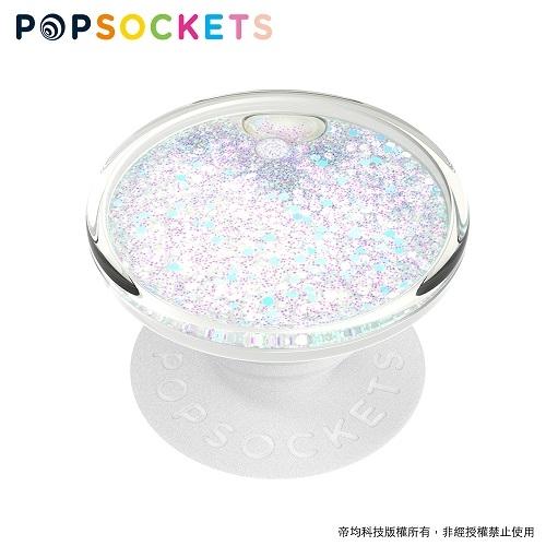 流沙雪花片片【PopSockets 泡泡騷二代 PopGrip】 美國 No.1 時尚手機支架
