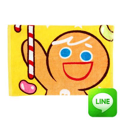 【銅板價】Line明星純棉童巾-歡樂薑餅人(共3色)