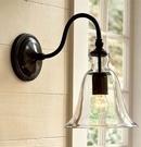 超實惠 創意北歐美式宜家現代簡約床頭燈 美式臥室客廳過道陽臺壁燈