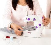 縫紉機 家用電動縫紉機 迷你便攜腳踏微型車衣 小型手動吃厚  夢藝家