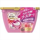 【日本製】【P&G】Bold 洗衣凝膠球3D立體 膠囊 洗衣精 本體 17顆入 牡丹花香 SD-2658 - P&G