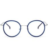 鏡架(圓框)-復古潮流時尚精選男女平光眼鏡6色73oe35【巴黎精品】
