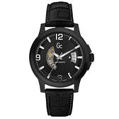 Gc 尊爵個性機械腕錶(全黑)~SWISS MADE