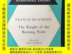 二手書博民逛書店The罕見Knight of the Burning Pestl