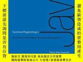 二手書博民逛書店Functional罕見Programming In Java: How Functional Technique
