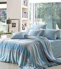 HO KANG 100%天絲鋪棉兩用被床包四件組~半醒