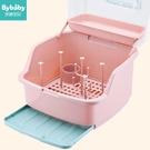 嬰兒奶瓶收納箱盒便攜大號寶寶帶蓋