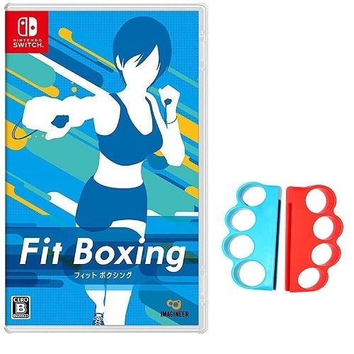 【玩樂小熊】現貨中Switch遊戲 NS 減重拳擊 Fit Boxing 中文版 健身拳擊+輔助握把環