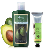 【洗護髮推薦】Perth s King酪梨修護洗髮精220g+綠茶胺基酸護髮素120g