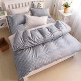 《永恆》百貨專櫃精品雙人加大薄床包組 100%MIT台製舒柔棉(6*6.2尺)