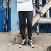 牛仔褲 牛仔褲男士基礎復古做舊日系潮流修身寬松休閑運動褲子