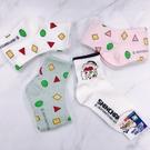 【花想容】 韓國襪子 蠟筆小新 幾何圖形 蠟筆小新睡衣風 普普風