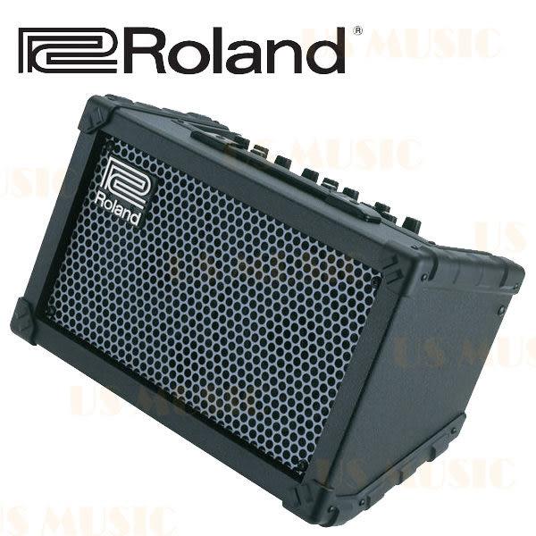 【非凡樂器】Roland CUBE Street 黑色款 電池供電立體聲擴大音箱 / 贈導線 公司貨保固