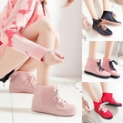雨靴女士水鞋防滑雨靴短筒保暖韓國可愛套鞋膠靴雨鞋女時尚款外穿 愛丫 交換禮物