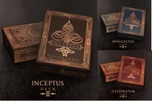 【USPCC 撲克】Inception-Illustratum紅/Intellectus藍/Inceptus咖啡  playing cards 撲克牌