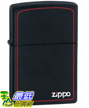 [美國直購 ShopUSA] Zippo Black Matte Lighter with Border 218ZB $971