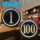 【W.I.P】號碼牌 (小) 200 (50入) 號碼牌/桌牌/貼牌