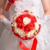 VIKI-結婚慶用品婚禮韓式新娘婚禮仿真創意手捧花花束婚紗照道具花球 nm4207 【VIKI菈菈】