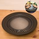【燒肉不沾烤盤】台灣製造 韓式烤盤 快速方便 重複使用 盤子 烤肉 中秋節 煮肉 BW302 [百貨通]
