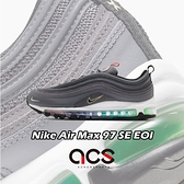 Nike 休閒鞋 Air Max 97 SE EOI 灰 彩色 氣墊 男鞋 復古慢跑鞋 電視檢驗圖【ACS】 DA8857-001