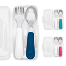 美國 OXO tot 不鏽鋼隨行叉匙組/餐具組(3色可選)
