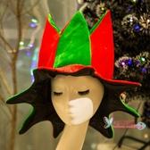 聖誕帽 毛絨裝扮表演聚會裝飾品禮物帶字母帶鈴鐺成人兒童無字母款【快速出貨】